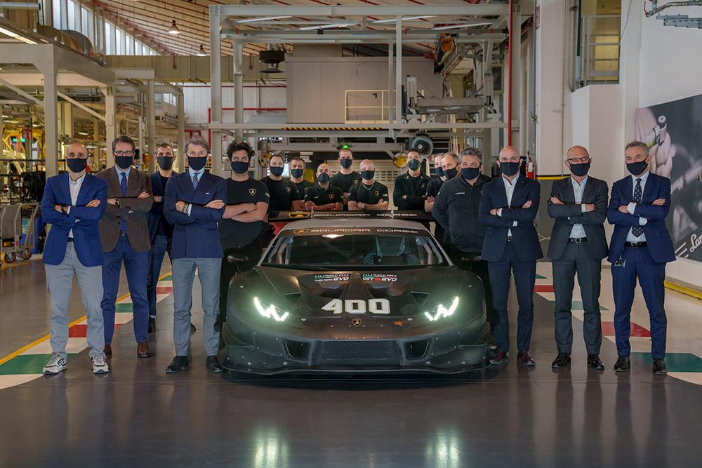 Lamborghini 400th Huracan Racing Car