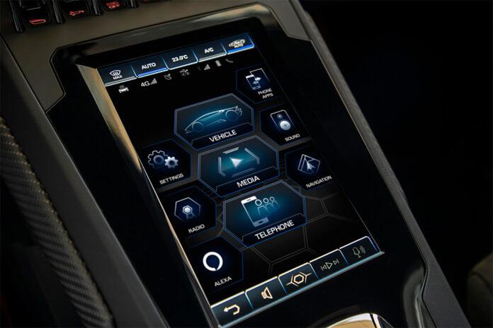 Lamborghini Huracán EVO Amazon Alexa Connected
