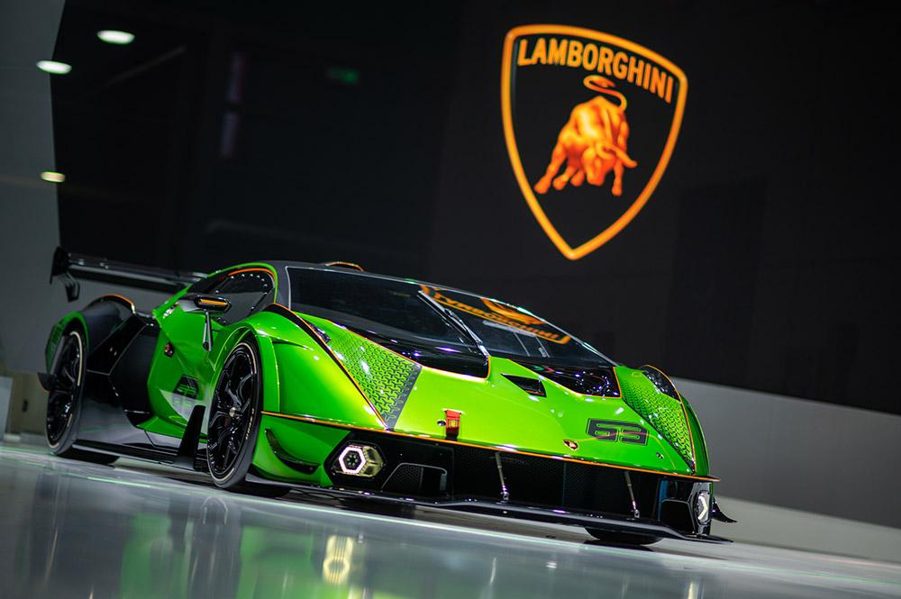 Lamborghini premieres at the 2021 Shanghai Auto Show