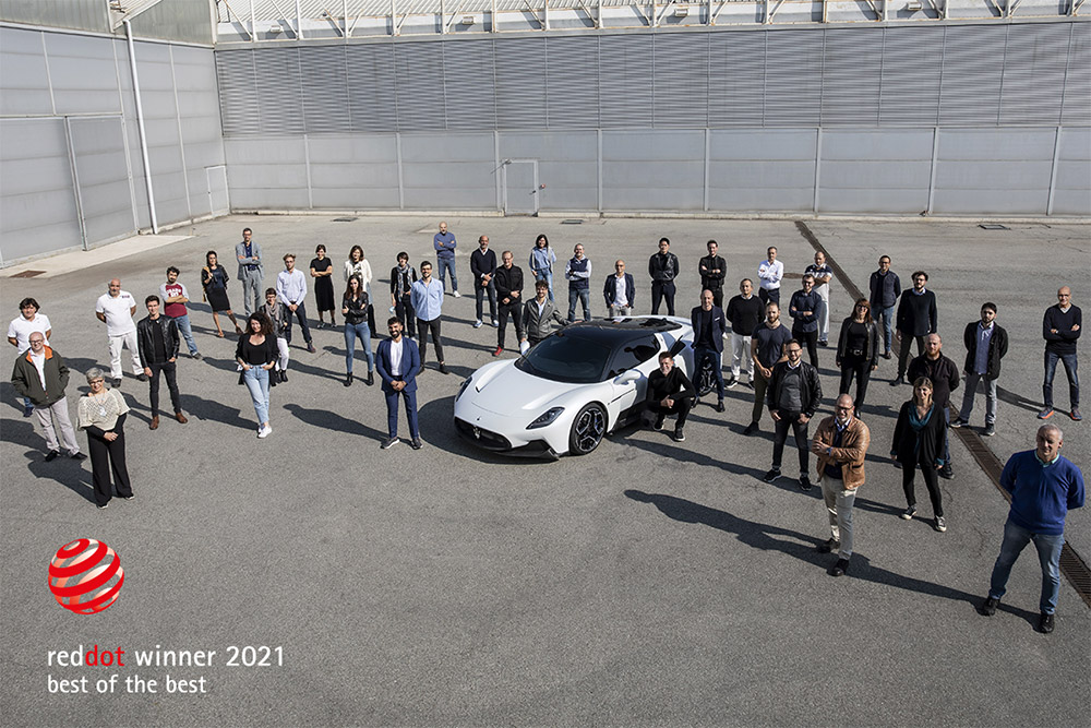 Maserati MC20 Wins Red Dot Best of Best Award