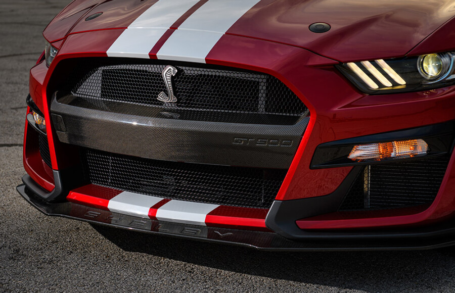 Mustang Shelby GT500 Carbon Fiber Upgrade Parts Revealed