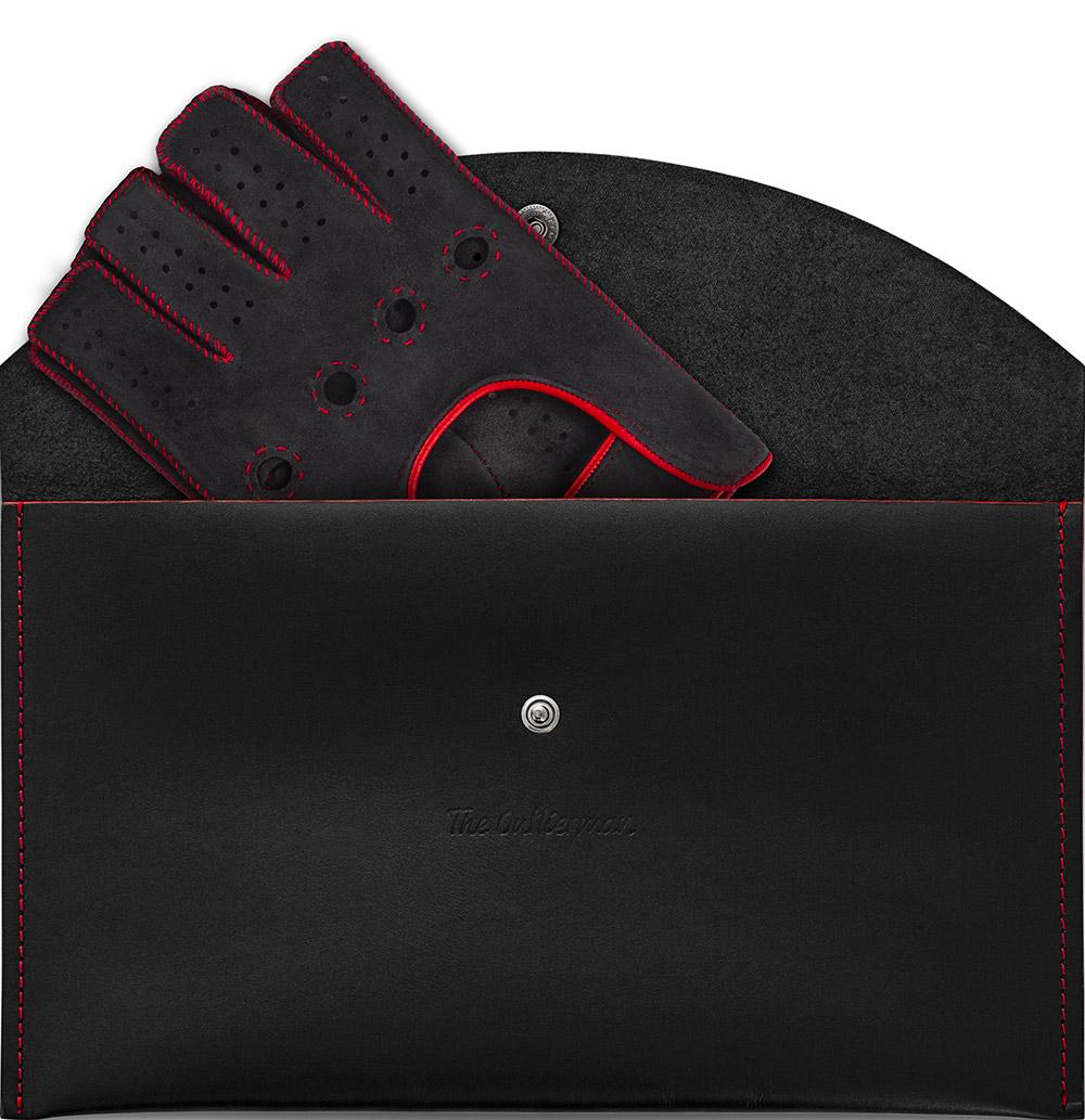 The Outlierman Powerslide Fingerless Driving Gloves