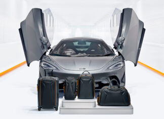 TUMI unveils premium capsule luggage and travel collection inspired by McLaren