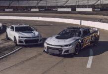 Chevrolet NASCAR Next Gen Camaro ZL1 Race Car