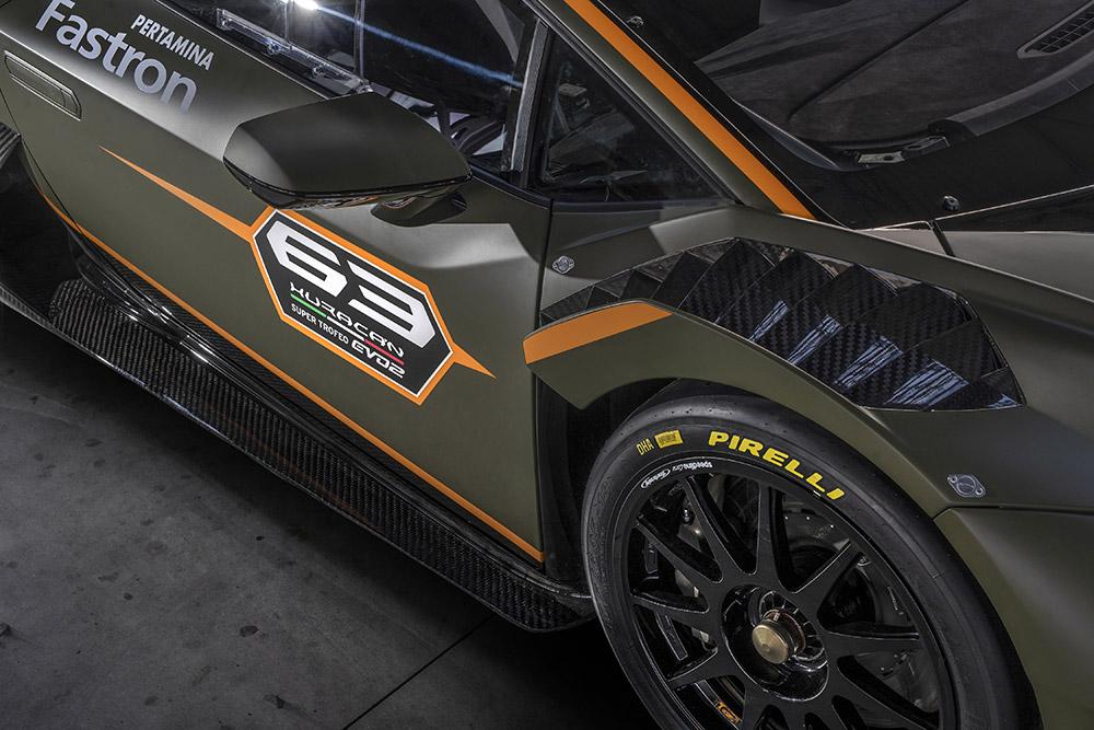 New Lamborghini Huracán Super Trofeo EVO2