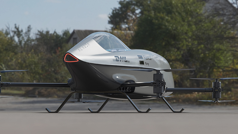 Airspeeder world's first electric flying racing car