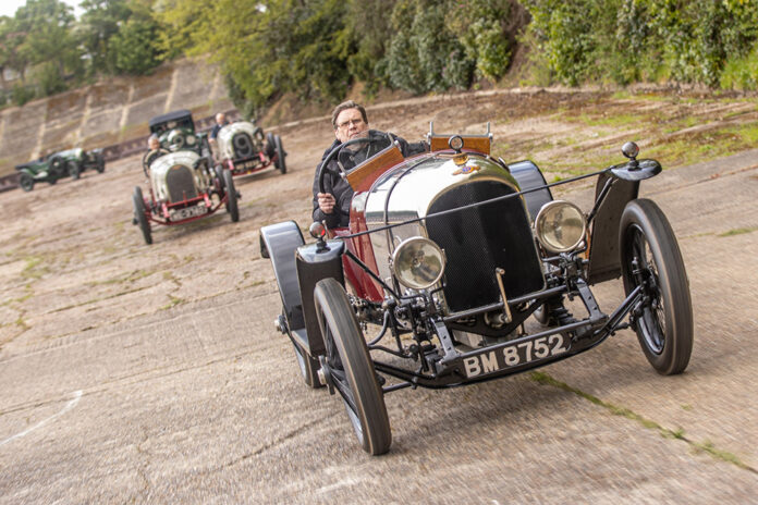 Bentley Celebrates 100 Years Since First Race Win