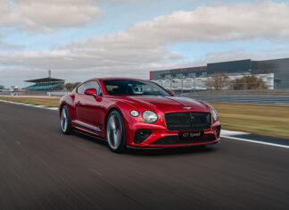 Bentley Continental GT Speed Chassis Technology