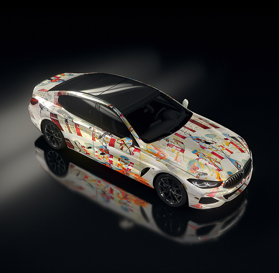 BMW Artificial Intelligence 8 Series Gran Coupe Art