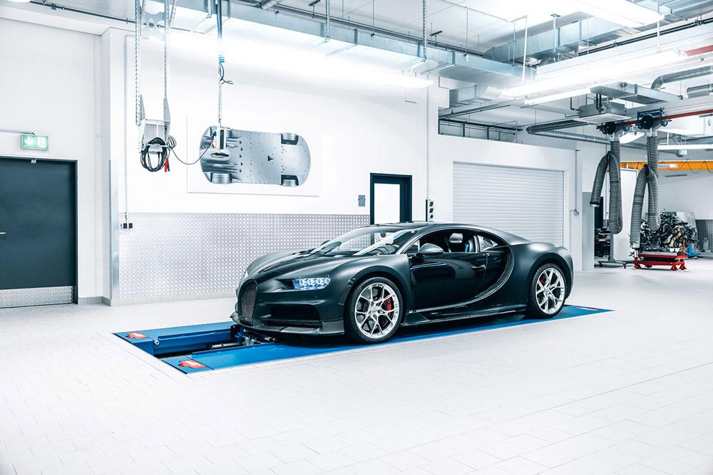 Bugatti Chiron 4-005 Prototype