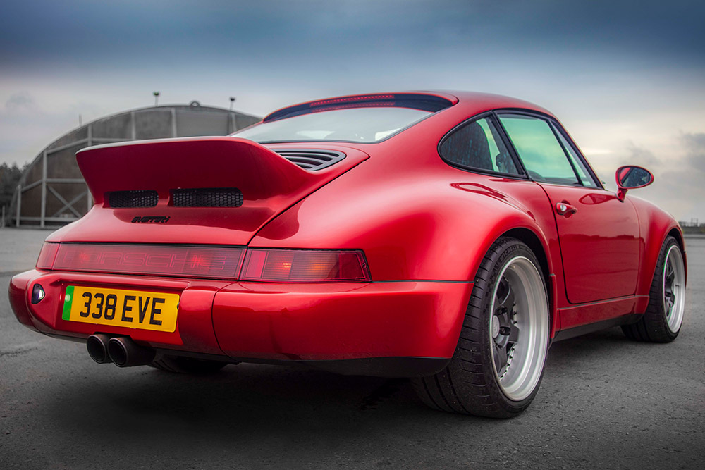 Everrati electric 'Signature' wide body Porsche 911