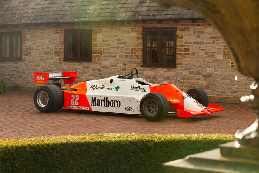 Ex Mario Andretti 1981 Alfa Romeo 179C
