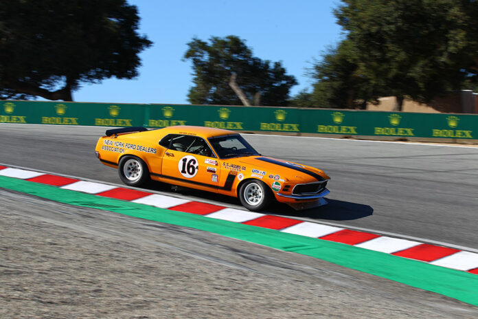 Rolex Monterey Motorsports Reunion and Ford Celebrate Trans-Am Series