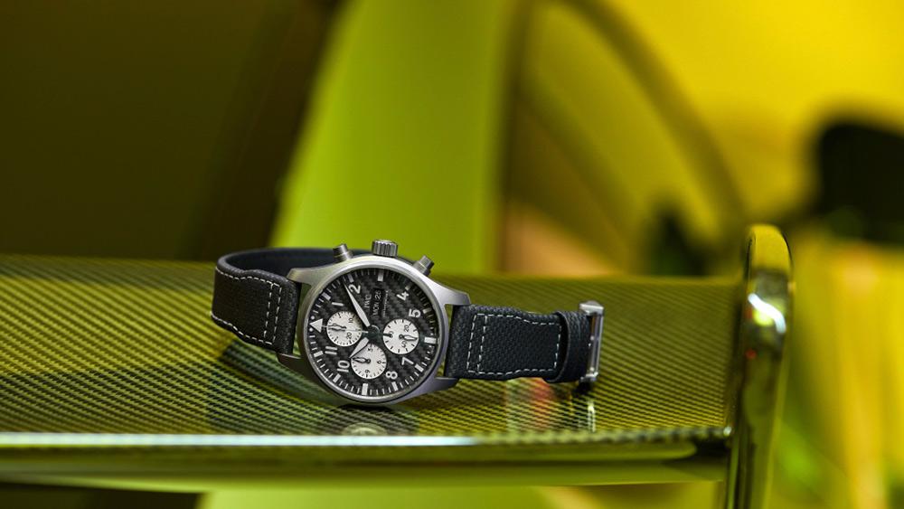 "IWC Schaffhausen and Mercedes-AMG Pilot's Watch Chronograph Edition ""AMG"""