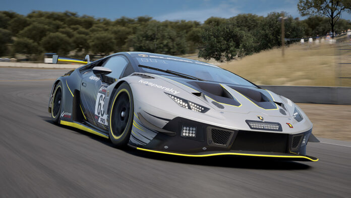 Lamborghini eSports 2021 The Real Race competition for sim racers