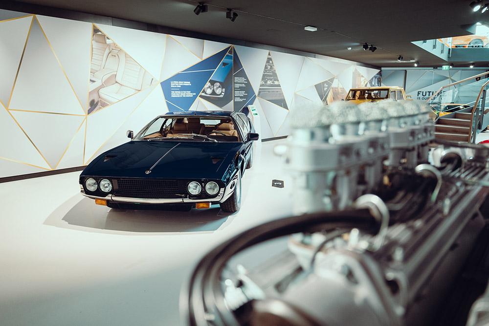 Lamborghini MUDETEC museum reopens