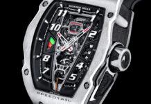 McLaren and Richard Mille unveil RM 40-01 Speedtail timepiece