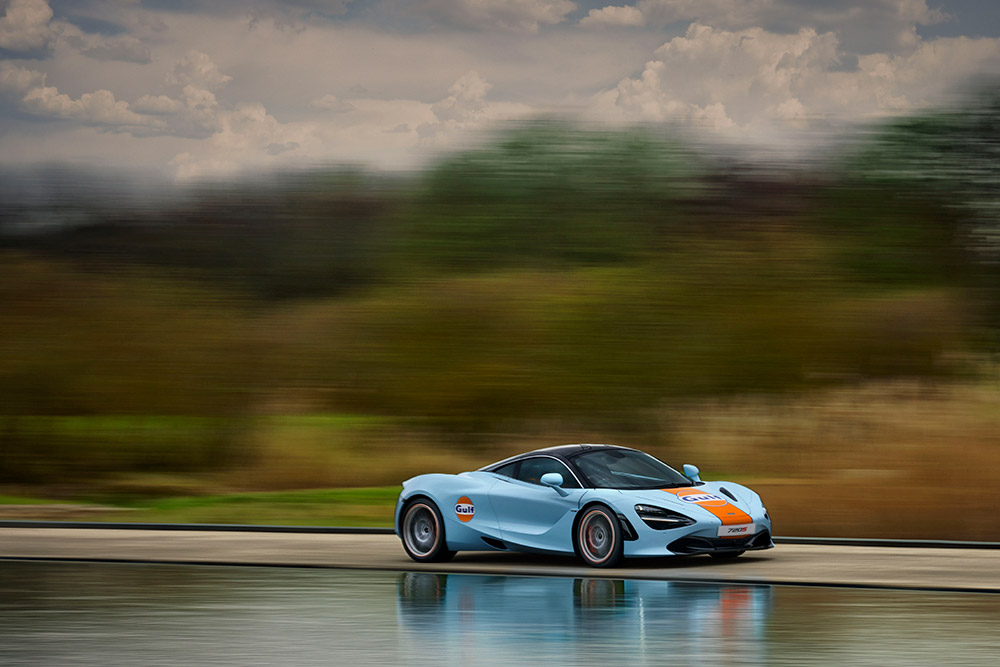 McLaren 720S Gulf Livery