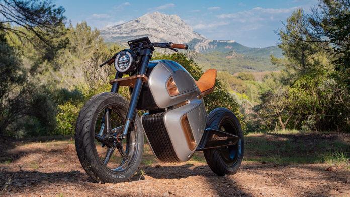 NAWARacer electric e-motorbike Prototype