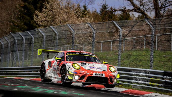 Porsche 911 GT3 R Lap at the Green Hell