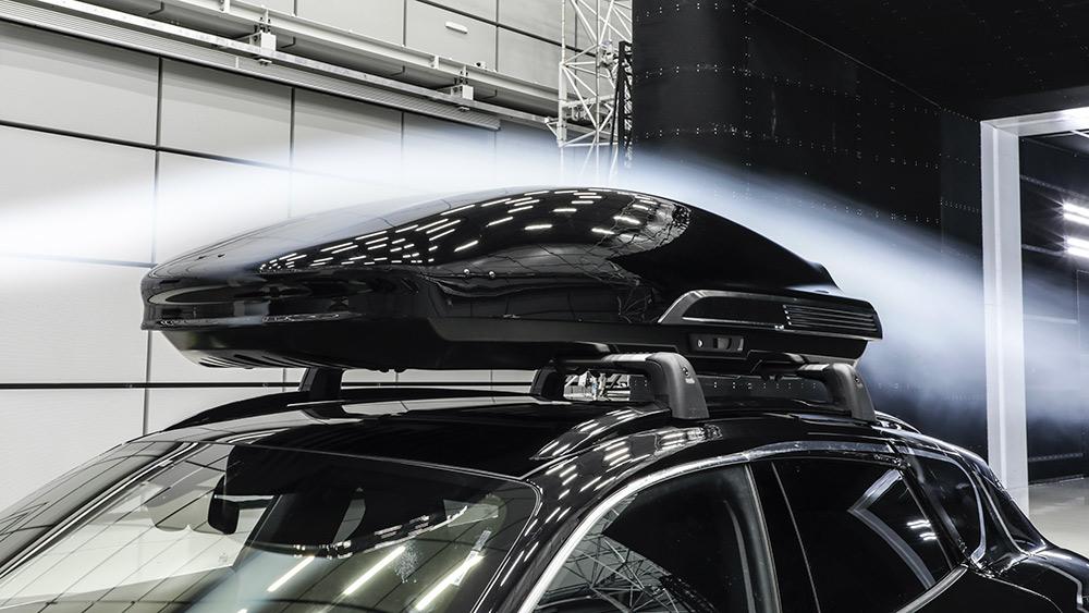 Porsche Tequipment high performance roof box