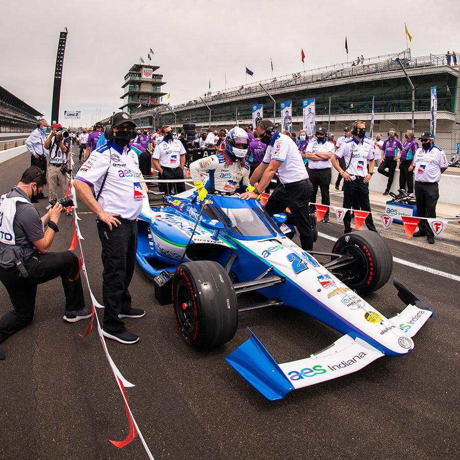 Sage Karam Indy 500 SIM Racing