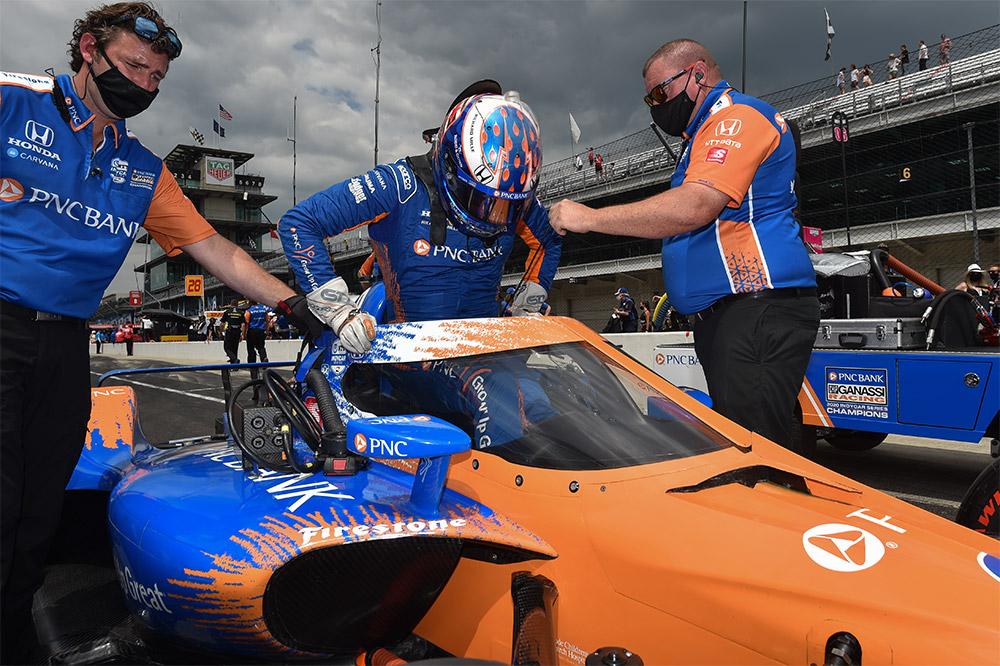 Scott Dixon Wins 2021 Indy 500 Pole