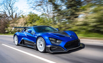 Zenvo Automotive TSR-S Hypercar arrives in the UK