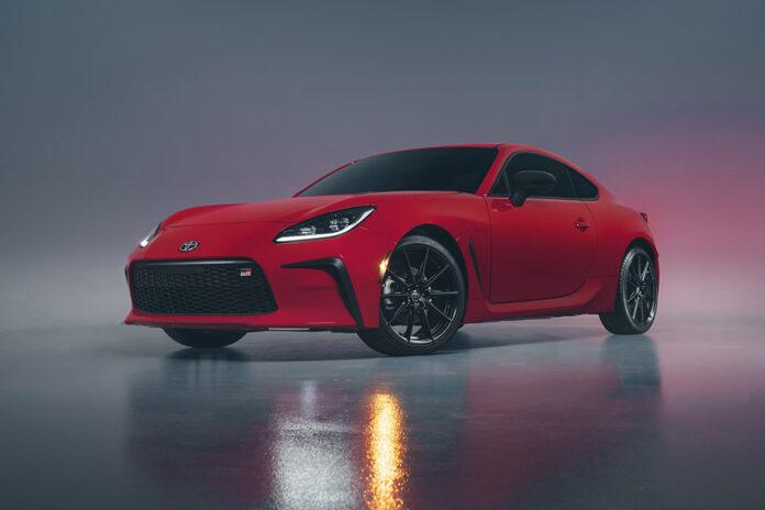 2022 Toyota GR 86 Debuts