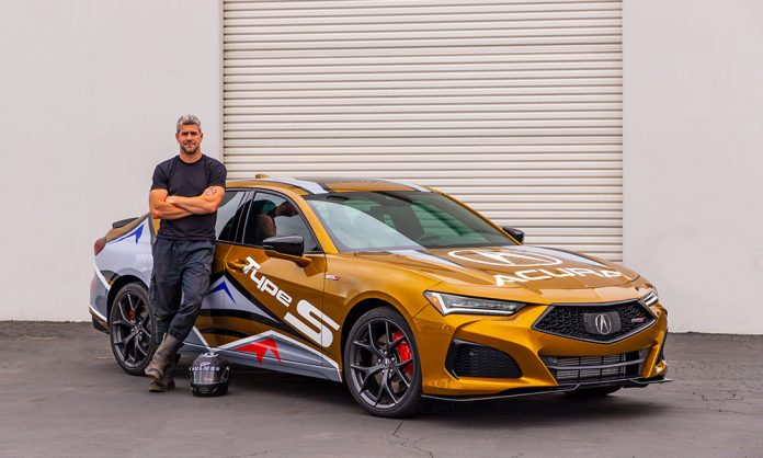 2021 Acura TLX Type S Pace Car Driven By Ant Anstead