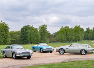 Aston Martin DB5 Vantage Collection at Nicholas Mee & Co