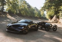 Q by Aston Martin Vantage Roadster A3 Commission