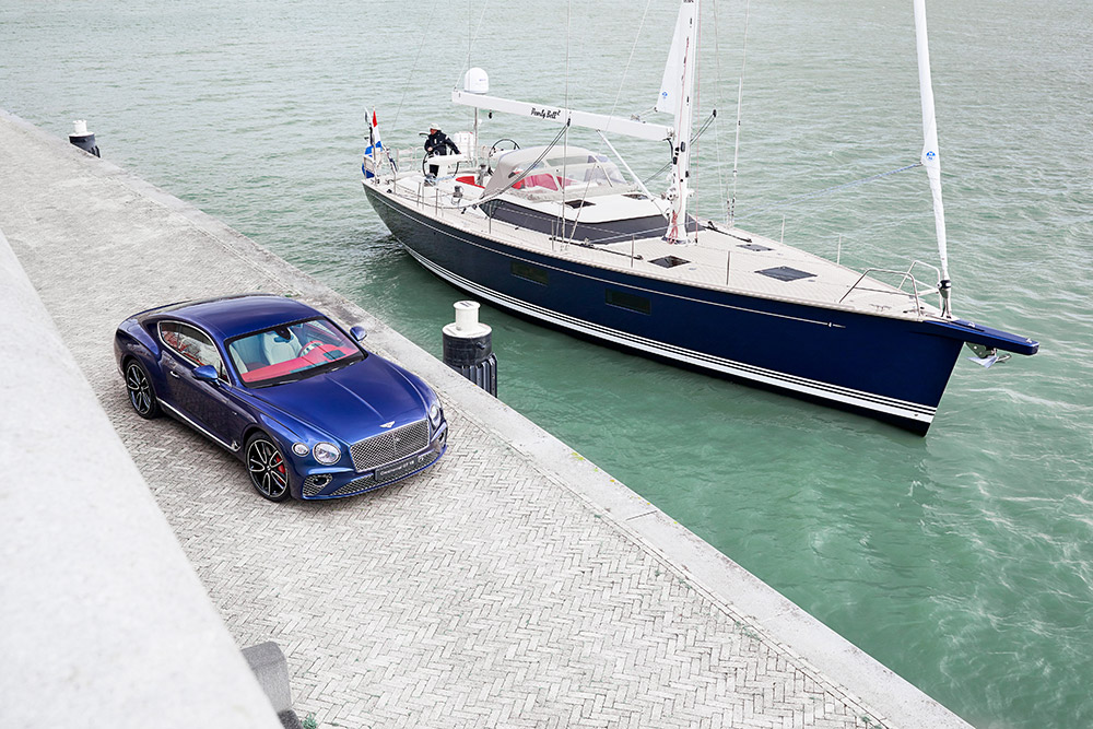 Bentley Continental GT Inspired Contest Yacht