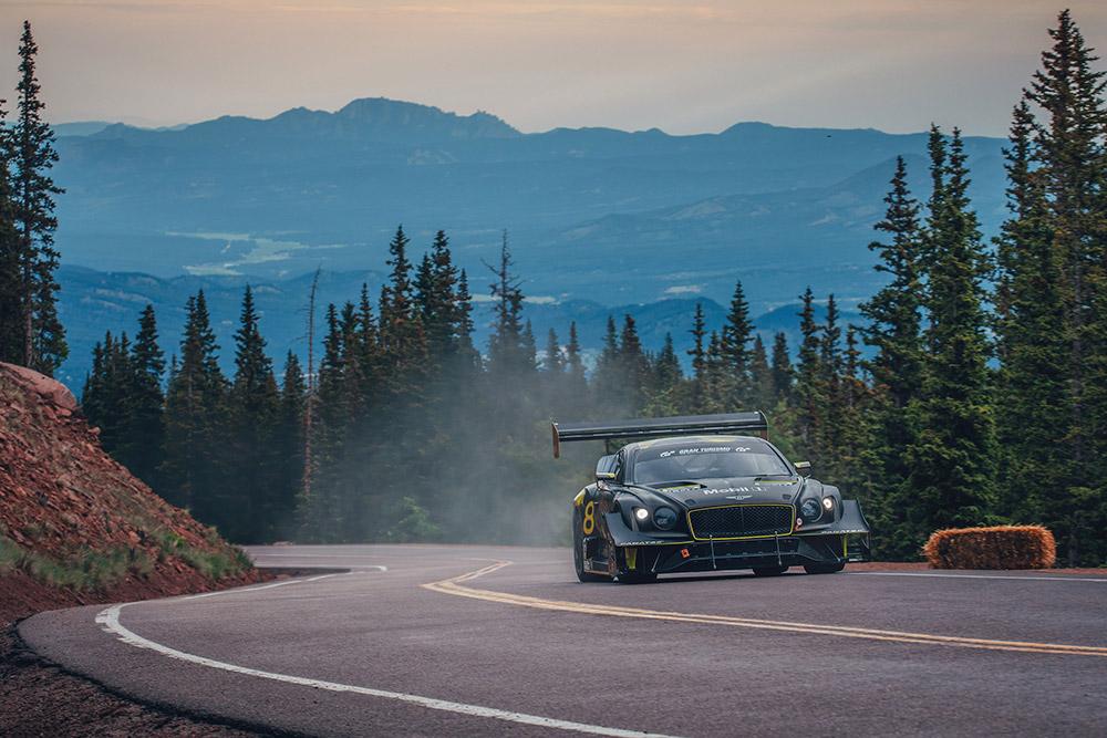 Bentley Continental GT3 Fastest Pikes Peak Race Car