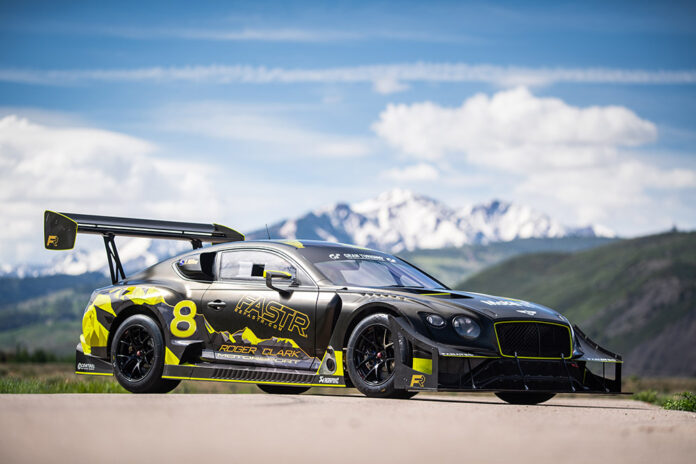 Bentley Continental GT3 Pikes Peak Technical details revealed
