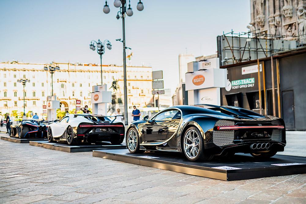 The Bugatti Chiron Super Sport World Premiere at the Milano Monza Motor Show