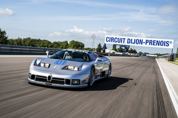 Bugatti EB 110 Sport Competizione Back on the Racetrack