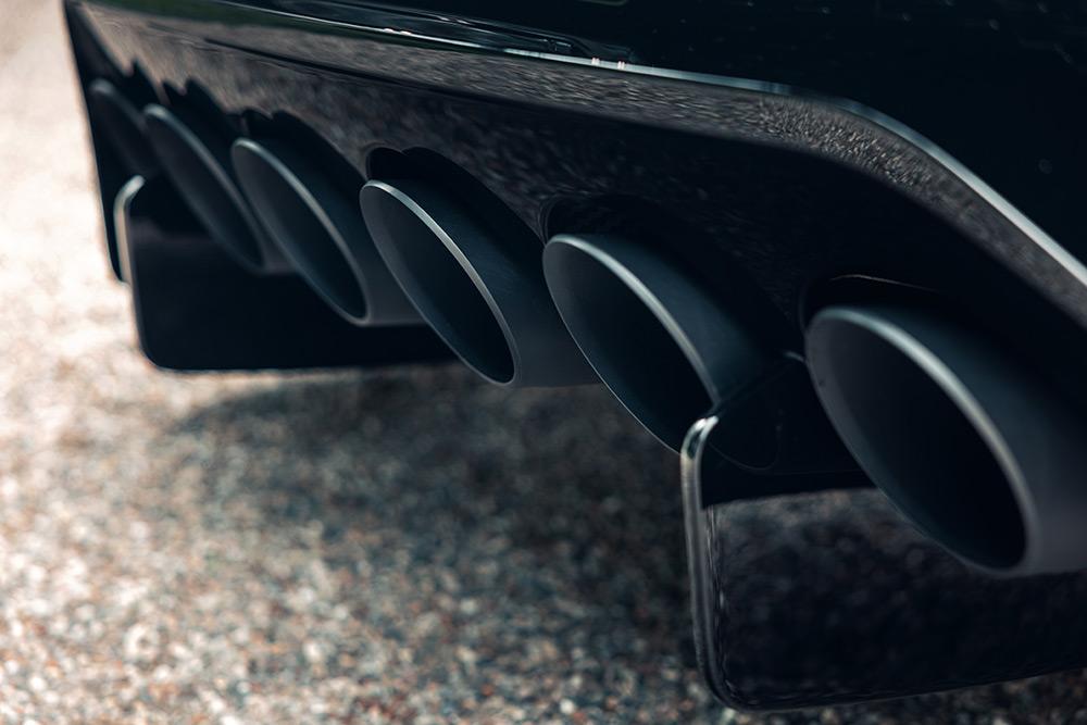 Bespoke Bugatti La Voiture Noire Delivered
