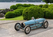 Bugatti Type 59 Race Car at the Concours of Elegance