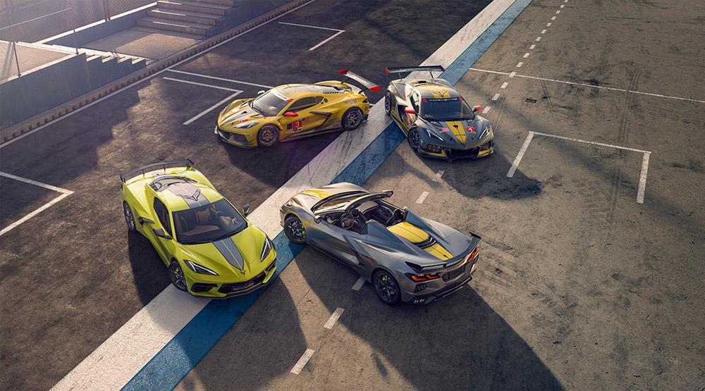 2022 Chevrolet Corvette Stingray IMSA Championship Edition