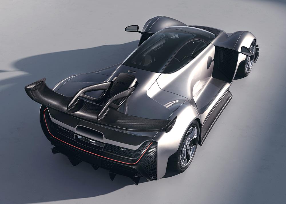 Czinger 21C Production Specification Vehicle Unveiled