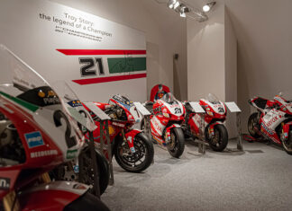 Ducati Museum Troy Bayliss Exhibit
