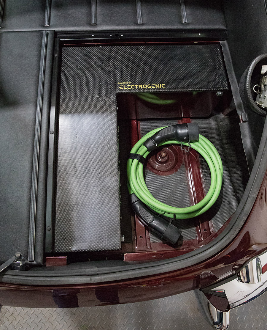Electric 1967 Jaguar E-type Series 1¼ Coupe converted by Electrogenic