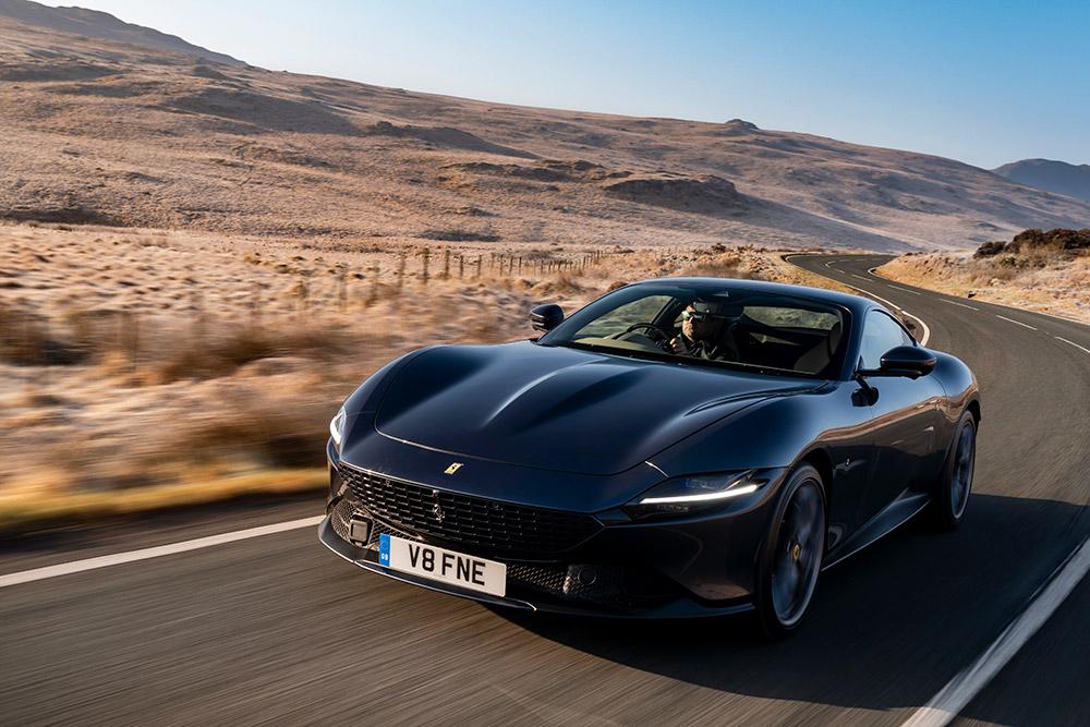 Ferrari Model Debuts at 2021 Goodwood Festival of Speed