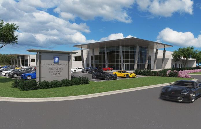 General Motors new Charlotte Technical Center in Concord North Carolina