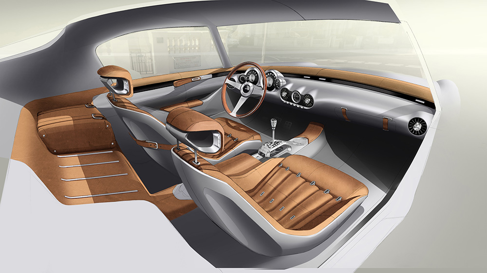 GTO Engineering all-new Squalo interior first design drawings