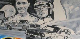Kelly Telfer 2021 Rolex Monterey Motorsports Reunion Poster Design