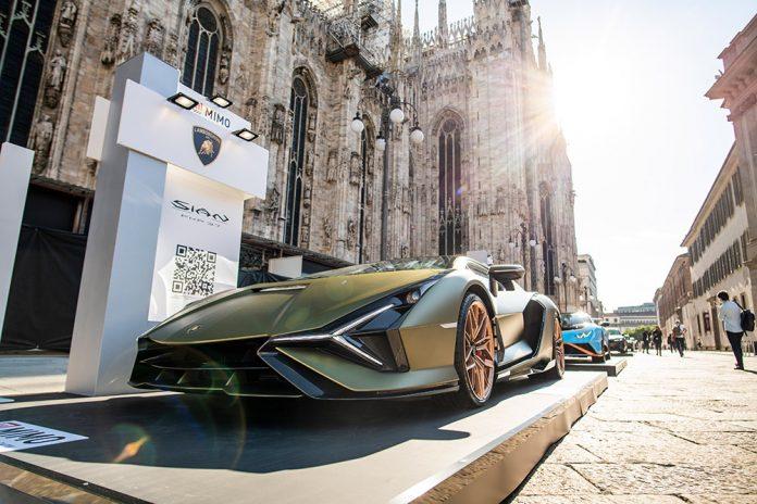 Lamborghini at the Milan Monza Motor Show
