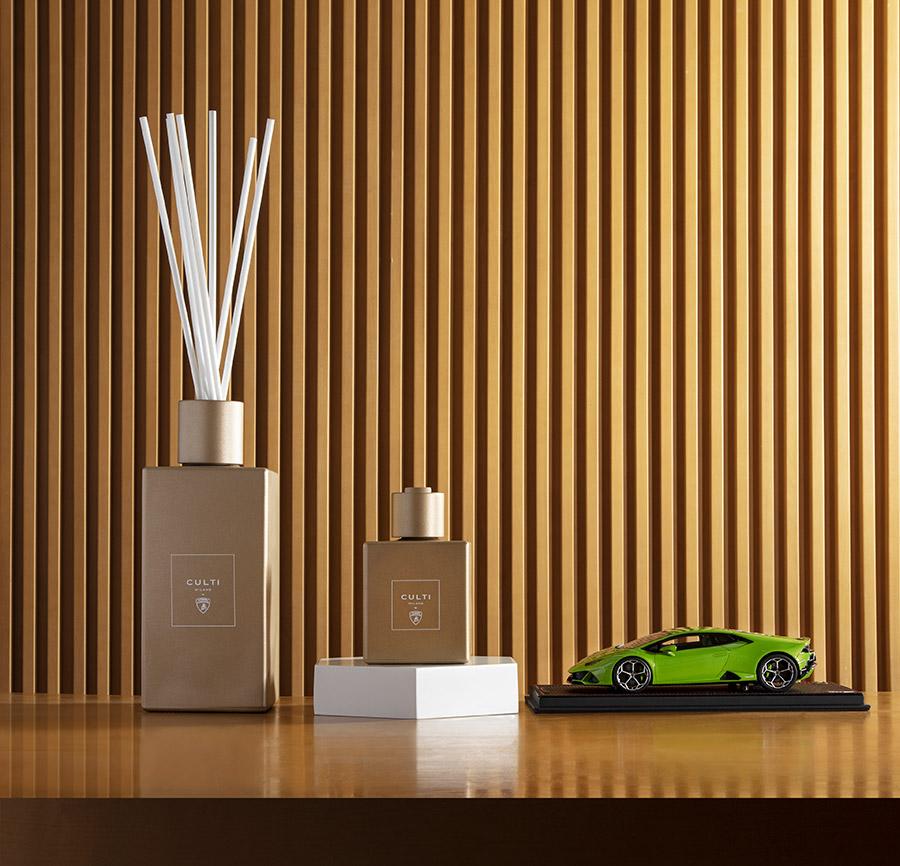 Exclusive New Lamborghini Culti Home Fragrance