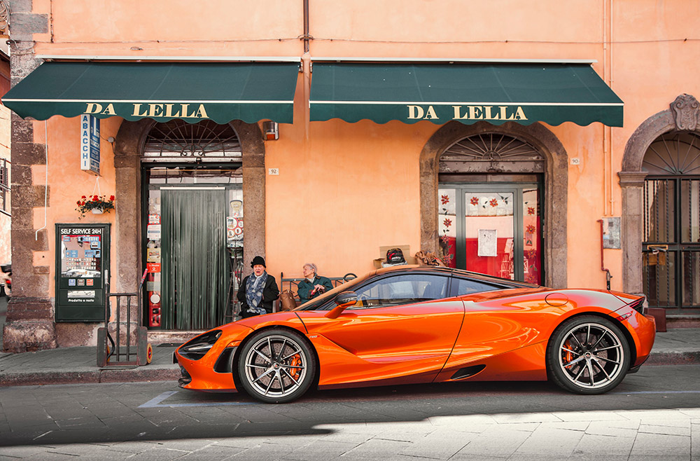 McLaren Artura makes its Italian debut at the first edition of the Milano Monza open-air motor show